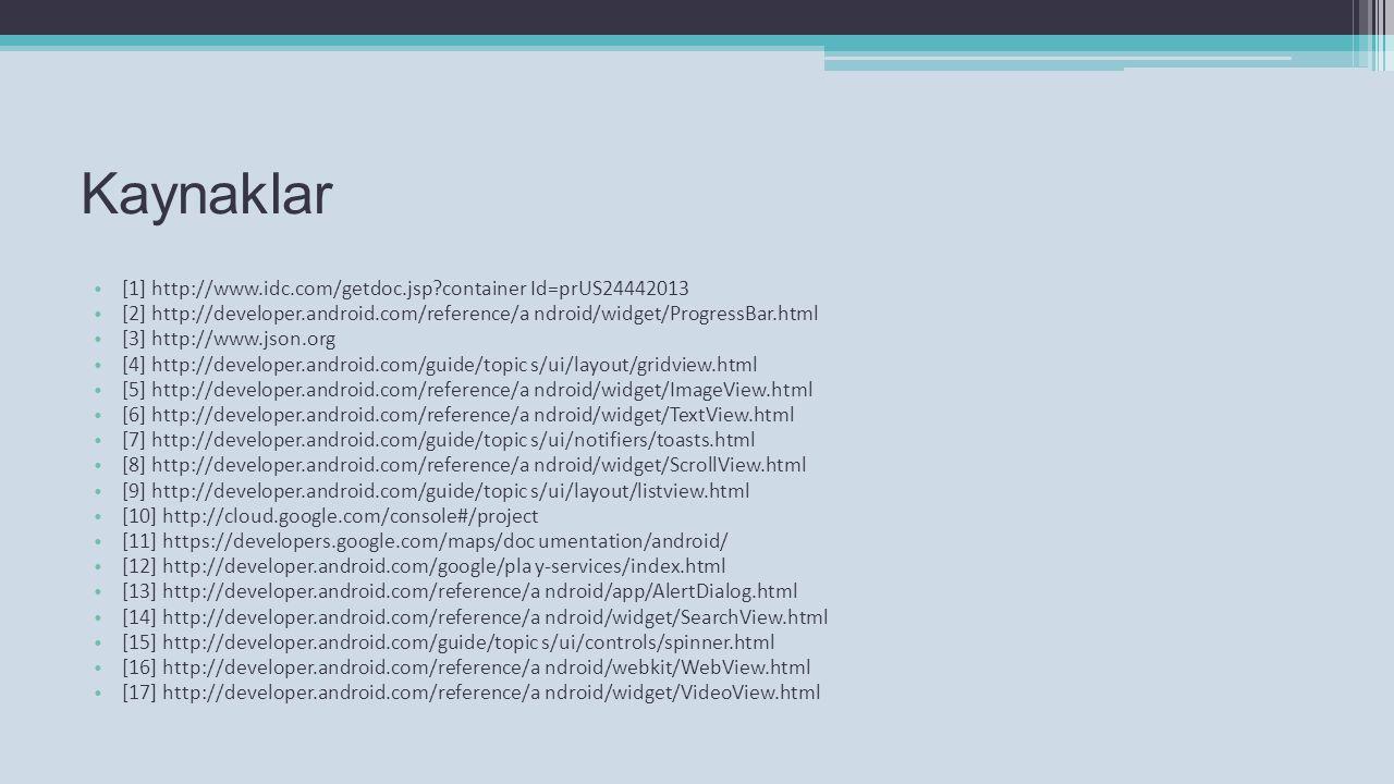 Kaynaklar [1] http://www.idc.com/getdoc.jsp container Id=prUS24442013